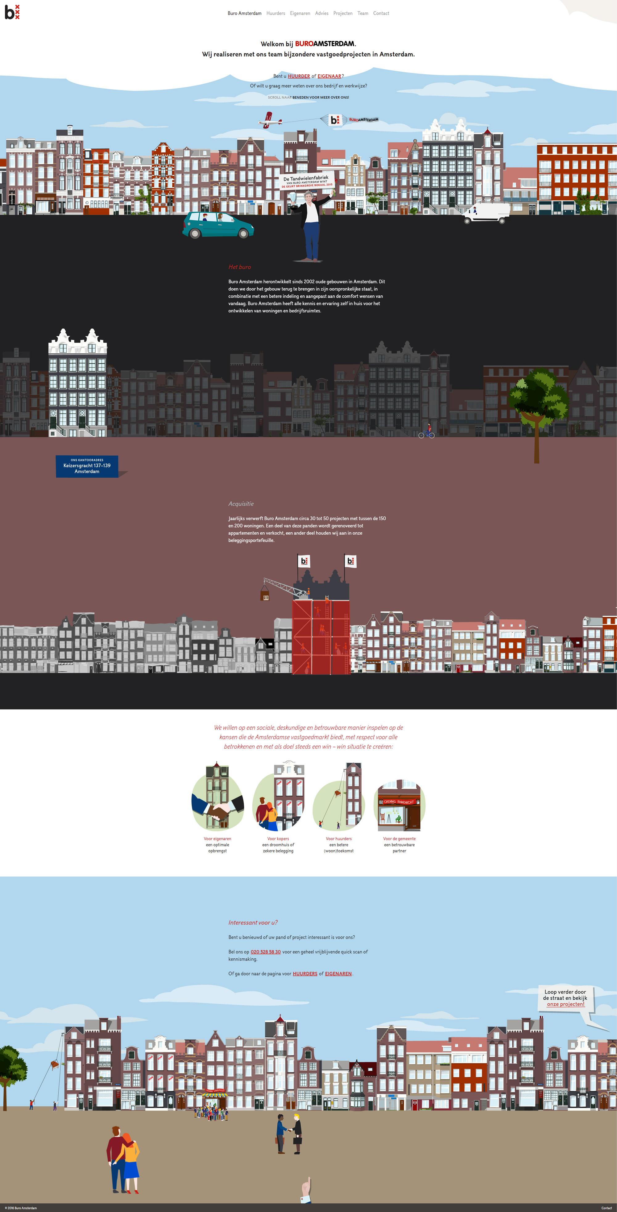 Buro amsterdam studio bar for Buro website